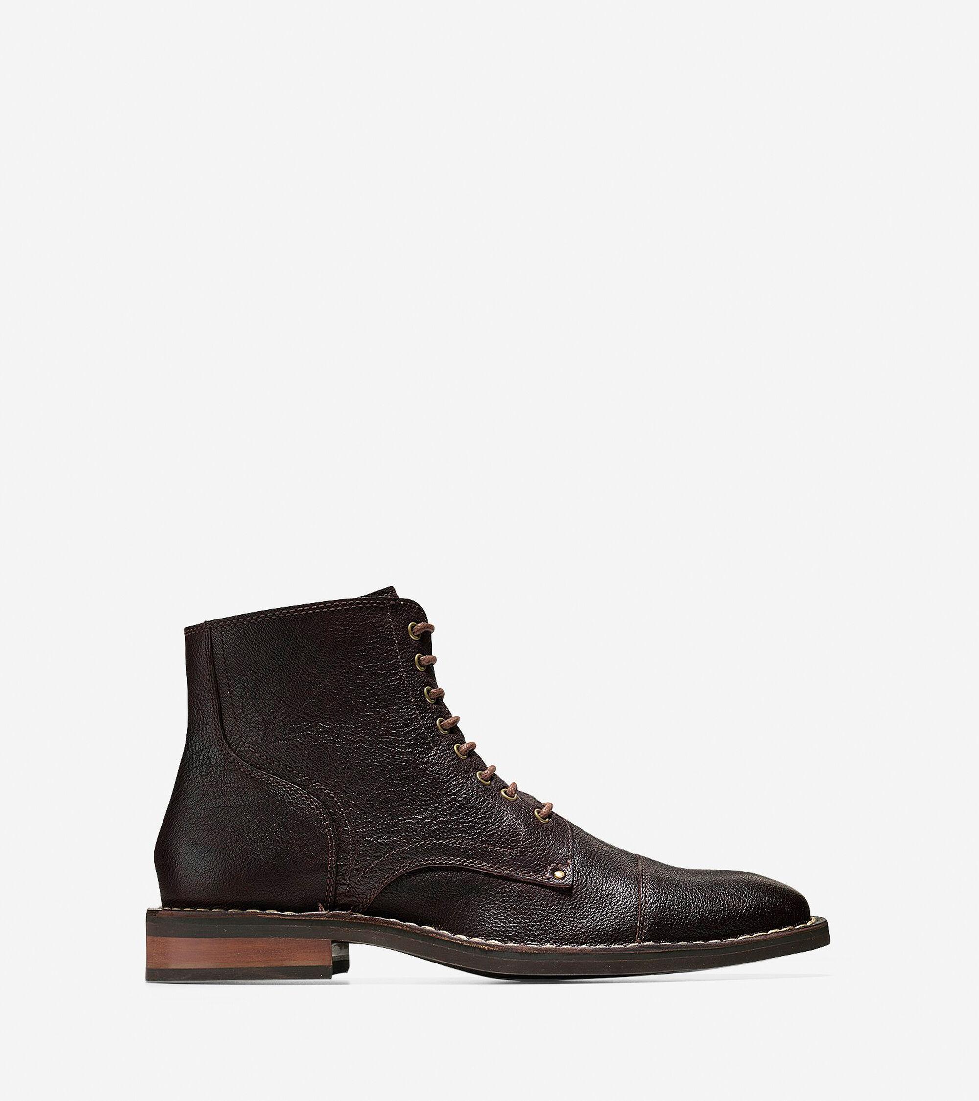 Boots > Canton Stitch Cap Toe Boot