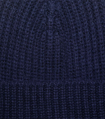 Half Cardigan Stitch Hat