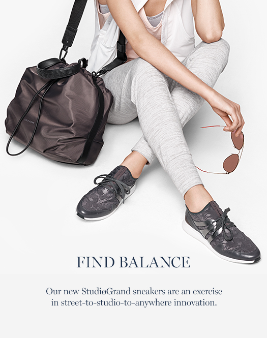 Our new StudiøGrand sneakers are an exercise in street-to-studio-to-anywhere innovation.