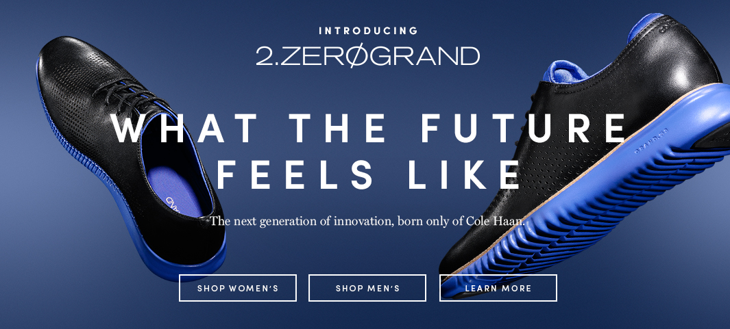 Introducing 2.ZERØGRAND: A remarkably innovative upgrade on tradition, seamlessly integrating craftsmanship with innovations that rival top-of-the-line running shoes