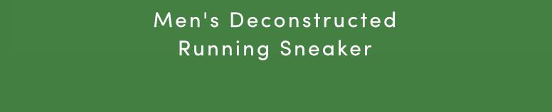 MEN'S DECONSTRUCTED RUNNING SNEAKER