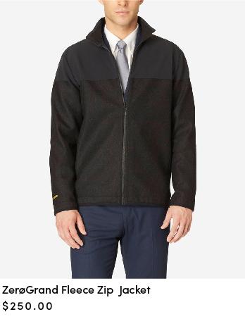 ZEROGRAND Fleece Zip Jacket