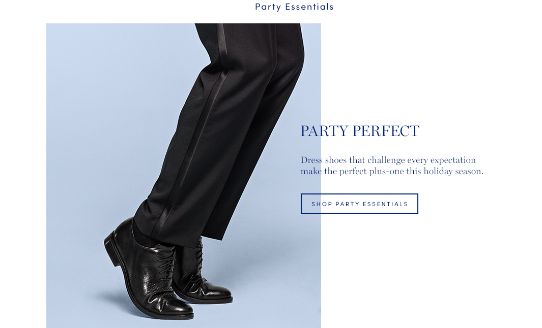Party Perfect: Dress Shoes that challenge every expectation make the perfect plus-one this holiday season