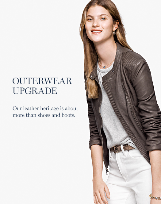 Outerwear Upgrade: Our leather heritage is about more than shoes and boots.