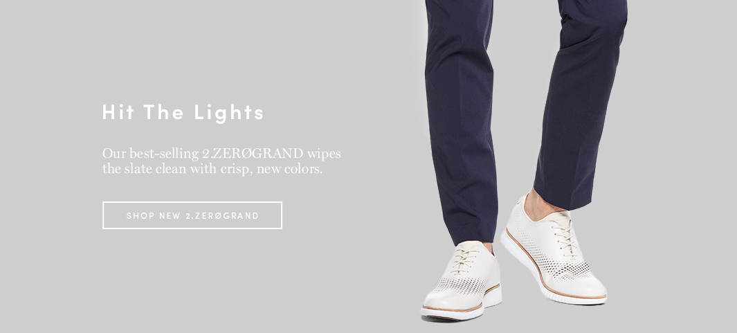 Hit the Lights: Our best-selling 2.ZERØGRAND wipes the slate clean with crisp, new colors.
