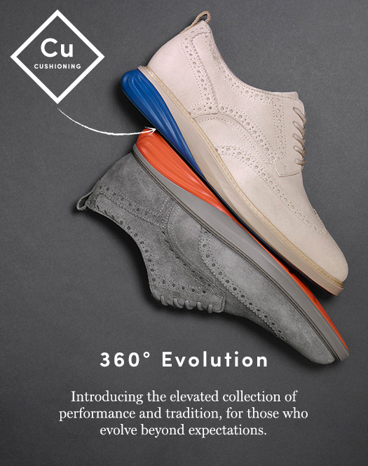 360 Degree Evolution: Introducing the elevated collection of performance and tradition, for those who evolve beyond expectations.