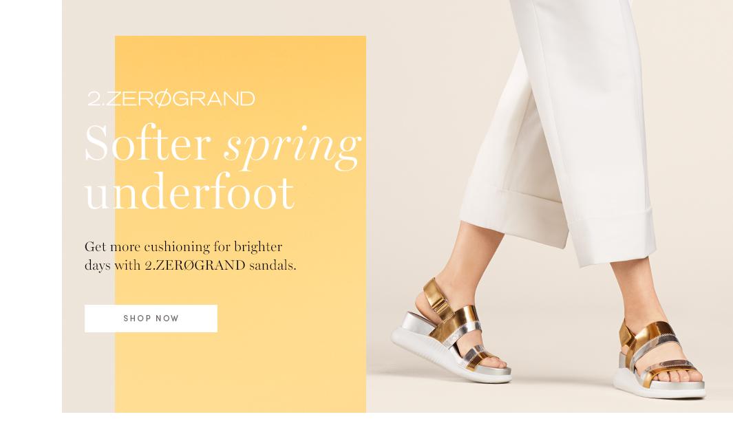 2.Zerogrand - Softer Spring underfoot