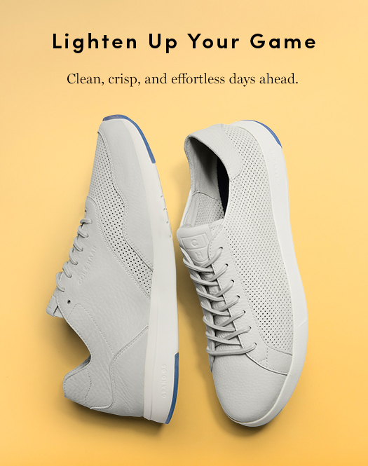 Lighten Up Your Game - Clean, crisp, and effortless days ahead.