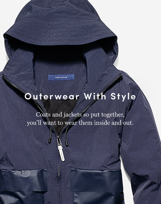 Outerwear With Style - Coats and jackets so put together, you'll want to wear them inside and out.
