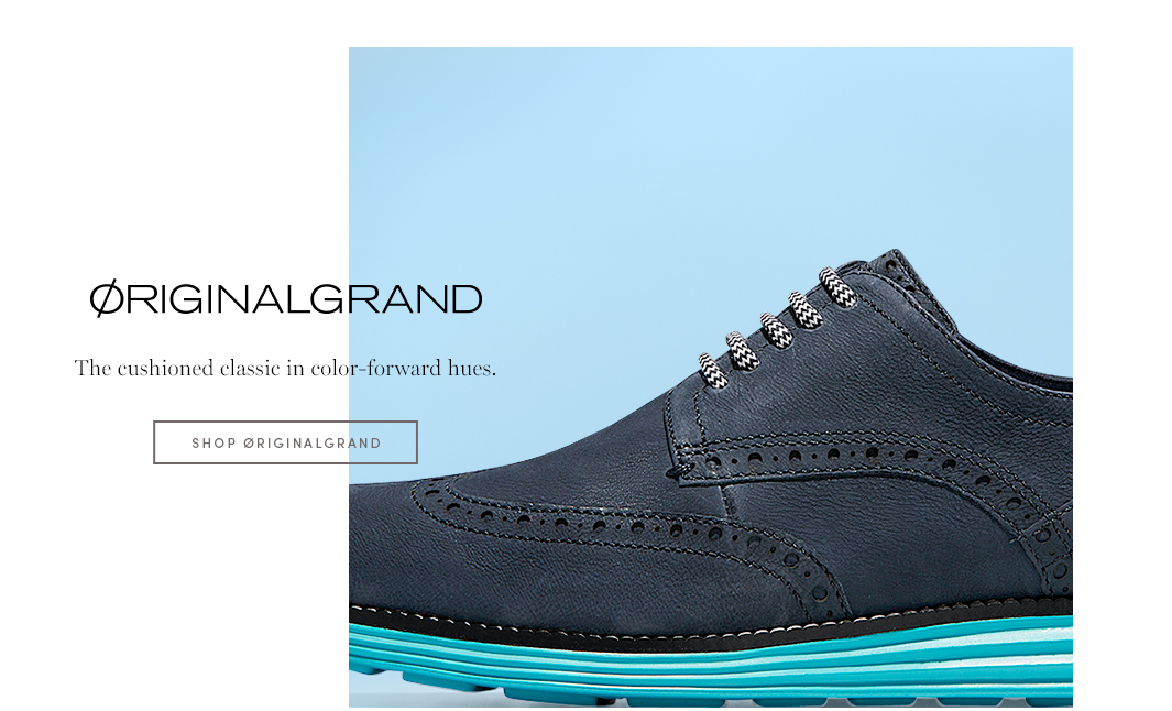 Originalgrand - The cushioned classic in color-forward hues.