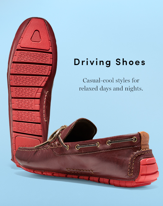 Driving Shoes - Casual-cool styles for relaxed days and nights
