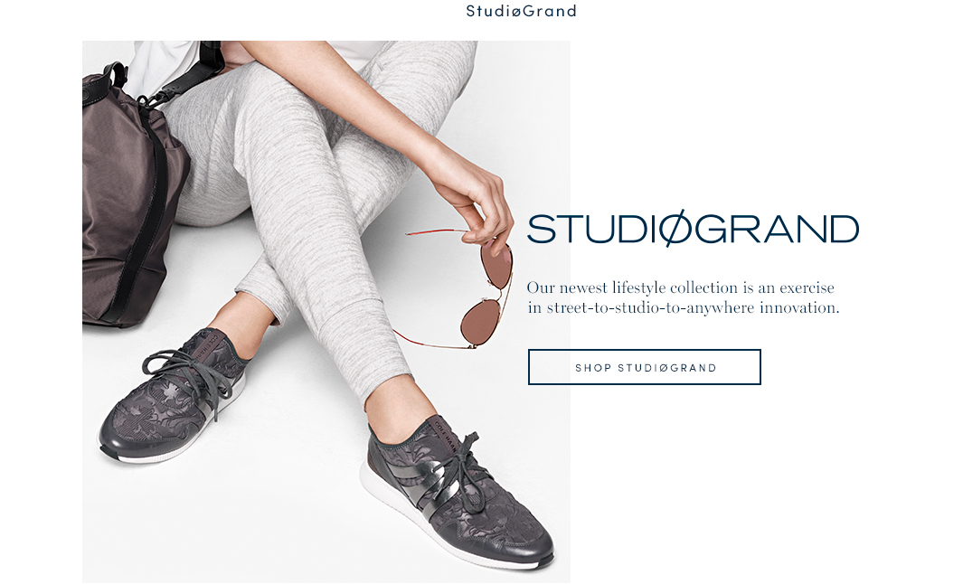 StudioGrand - Our newest lifestyle collection is an exercise in street-to-studio-to-anywhere innovation. Shop StudioGrand.