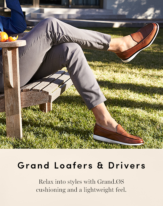 Grand Loafers & Drivers - Relax into styles with Grand.Os cushioning and a lightweight feel