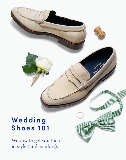 Wedding Shoes 101: We vow to get you there in style (and comfort).