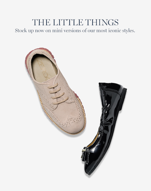 The Little Things: Stock up now on mini versions of our most iconic styles.