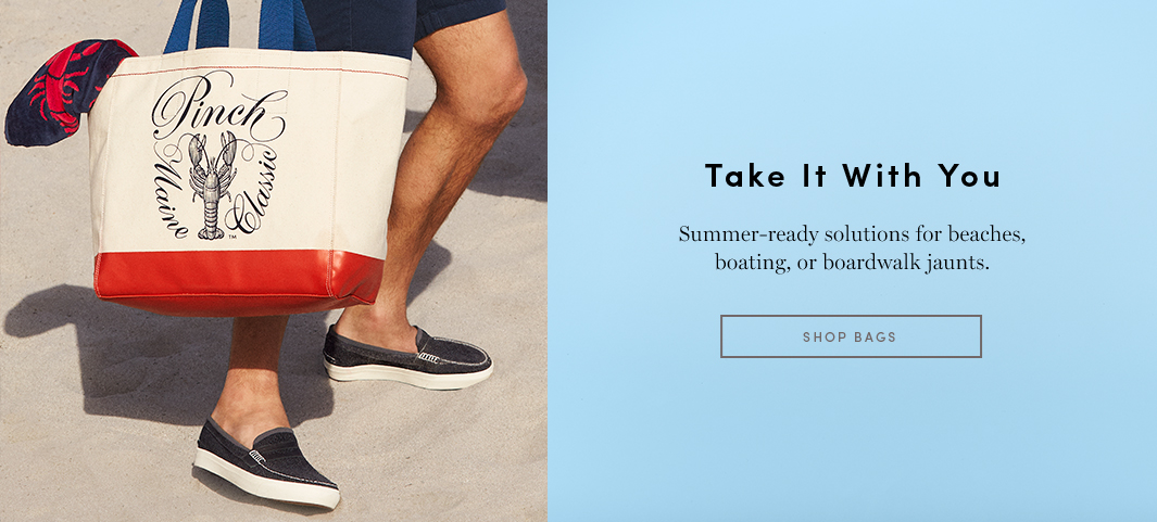 Take it with you - Summer -ready solutions for beaches, boating, or boardwalk
