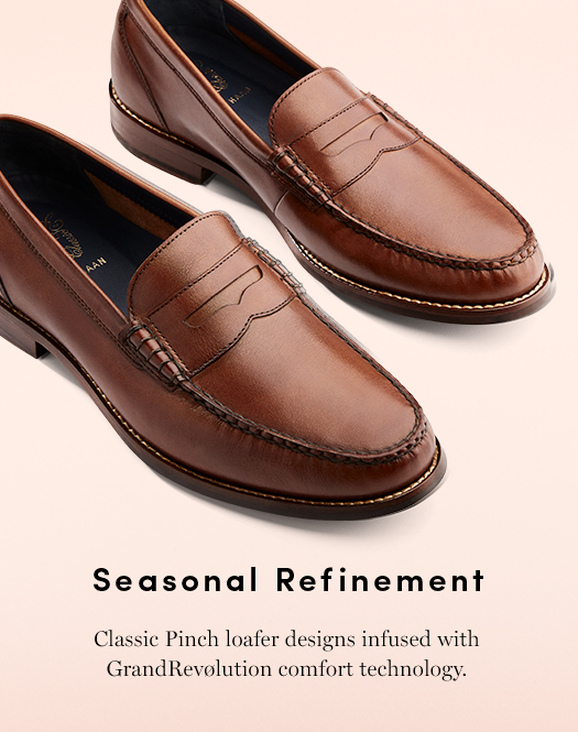 Seasonal Refinement - Classic Pinch loafer designs infused with Grandrevølution comfort technology