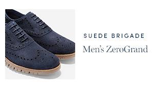 Suede Brigade - men's ZeroGrand