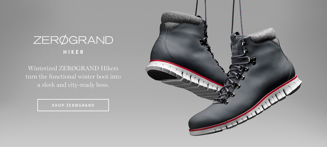 ZERØGRAND Hiker: Winterized ZERØGRAND Hikers turn the functional winter boot into a sleek and city-ready boss.