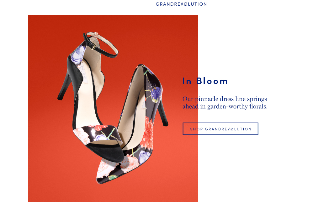In Bloom: Our pinnacle dress line springs ahead in garden-worthy florals