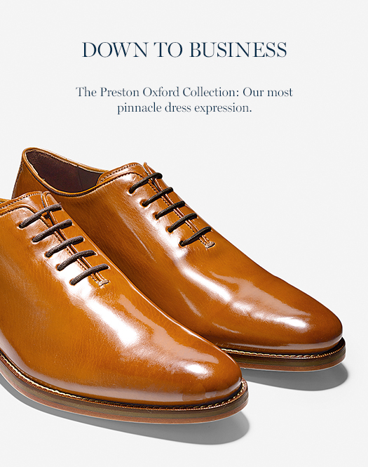 The Preston Oxford Collection: Our most pinnacle dress expression.