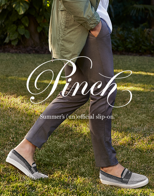 Pinch - Summer's (un)official slip-on.