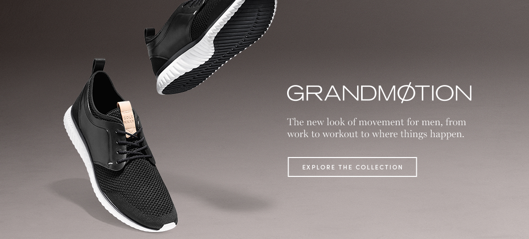 GrandMøtion: The new look of movement for men, from work to workout to where things happen.