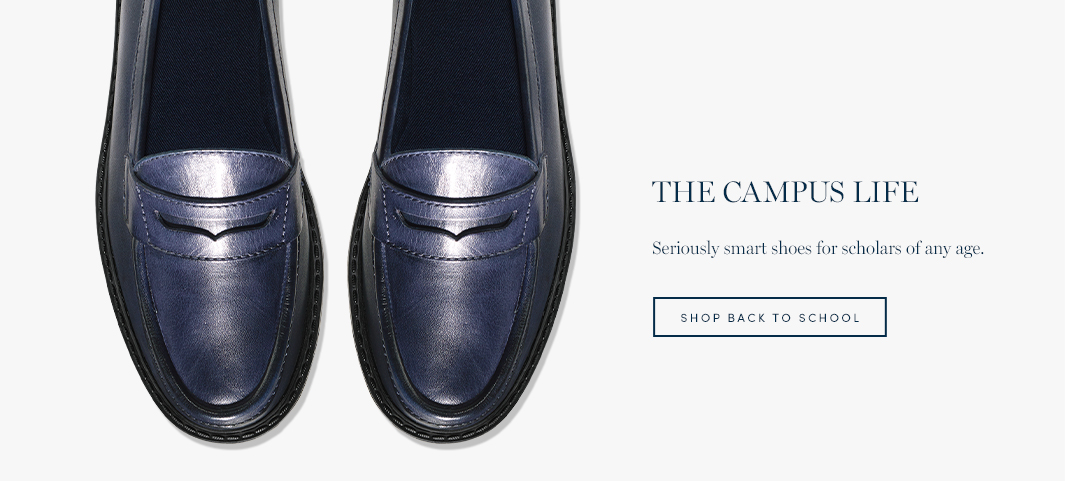 The Campus Life: Seriously smart shoes for scholars of any age.