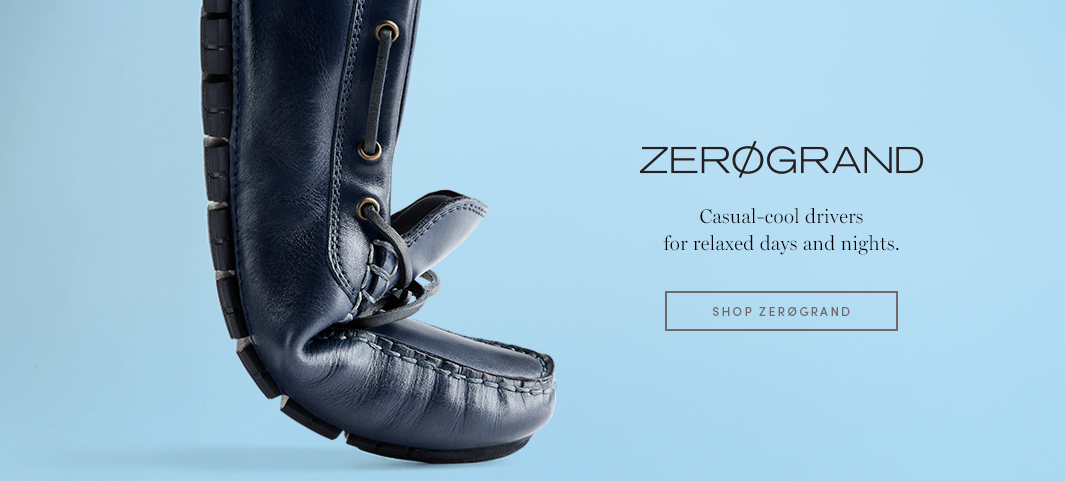 ZERØGRAND - Casual-cool drivers for relaxed days and nights