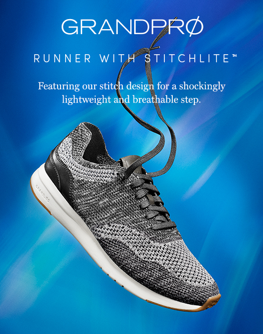 GrandPro Runner with Stitchlite - Featuring our stitch design for a shockingly lightweight and breathable step