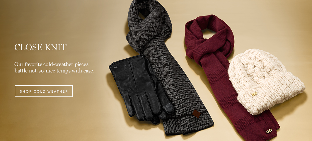 Close Knit: Our favorite cold-weather pieces battle not-so-nice temps with ease.