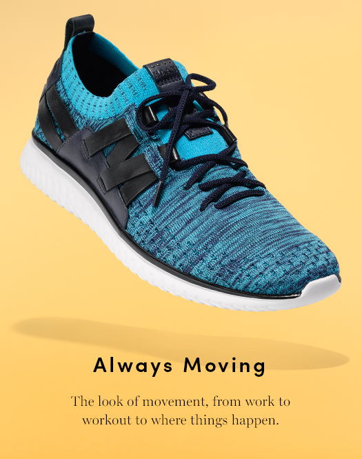 Always Moving - The look of movement, from work to workout to where things happen
