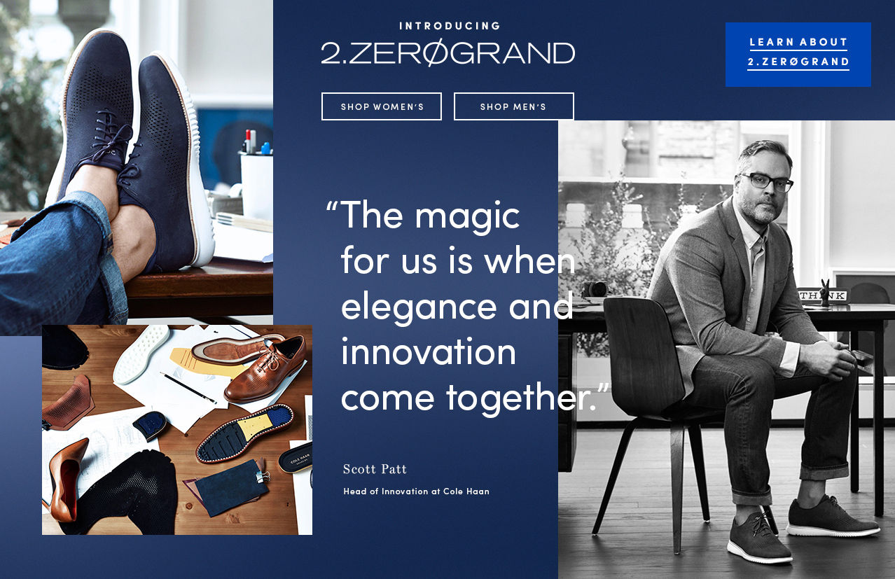Introducing 2.ZEROGRAND. The magic for us is when elegance and innovation come together. - Scott Patt. Learn about 2.ZEROGRAND.