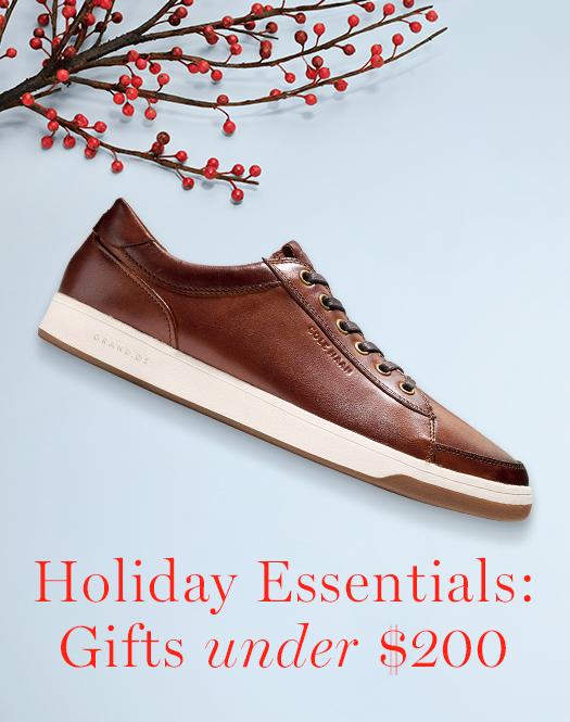 Holiday Essentials: Men's Gifts under $200.
