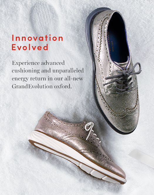 Innovation Evolved: Experience advanced cushioning and unparalleled energy return in our all-new GrandEvølution oxford.