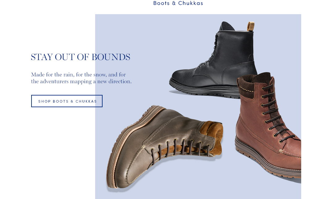 Stay Out of Bounds: Made for the reain, for the snow, and for the adventures mapping a new direction