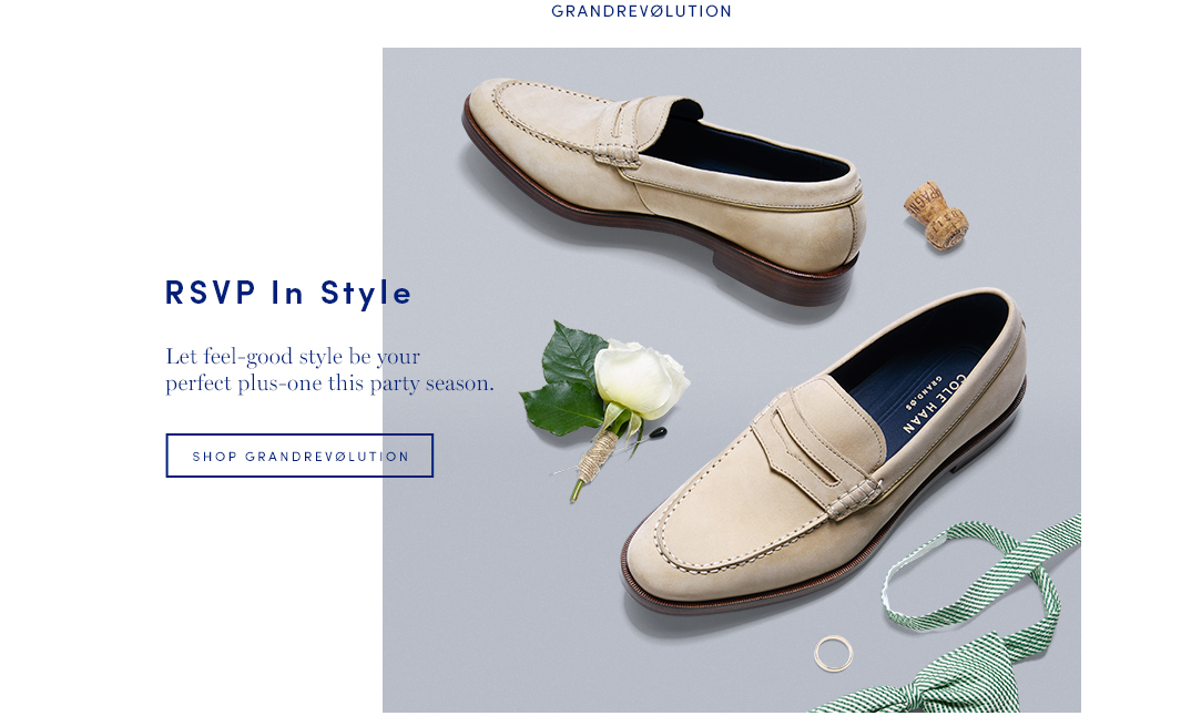RSVP in Style: Let feel-good style be your perfect plus-one this party season. Shop Men's GrandRevolution
