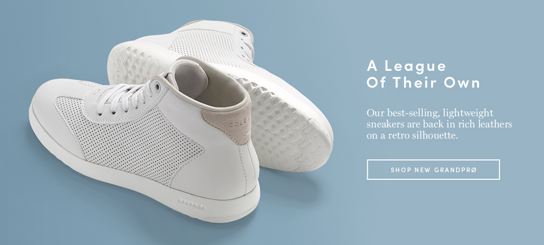 A League of Their Own: Our best-selling, lightweight all-stars are back in rich leathers on a retro silhouette.