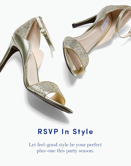 RSVP in Style: Let feel-good style be your perfect plus-one this party season.