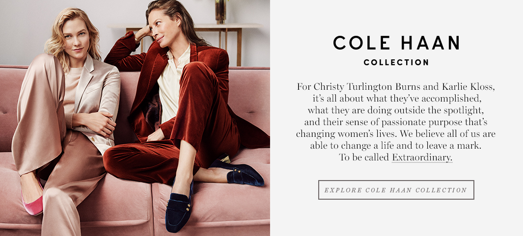 Cole Haan Collection: Our pinnacle dress expression for women. Born from American classic styling and modernized for Extraordinary women.