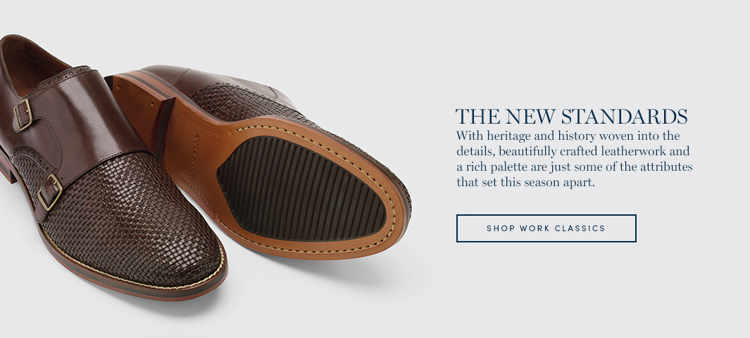 The New Standards: With heritage and history woven into the details, beautifully crafted leatherwork and a rich palette are just some of the attributes that set this season apart.