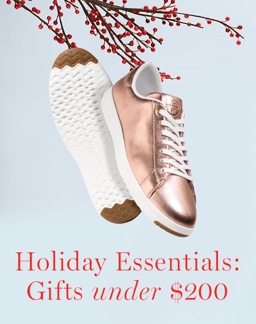 Holiday Essentials: Women's Gifts under $200.