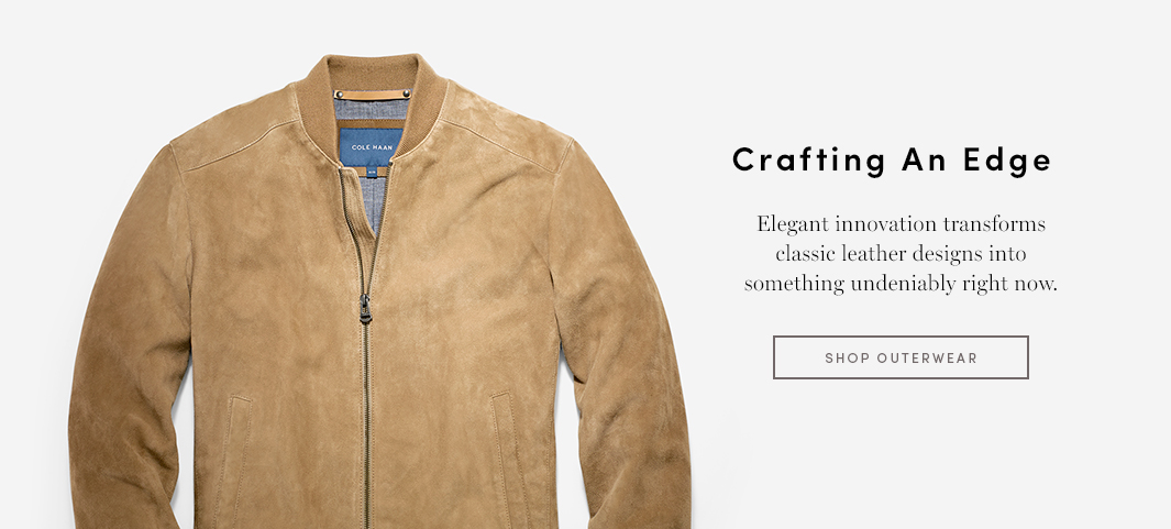 Crafting An Edge - Elegant innovation transforms classic leather designs into something undeniably right now.