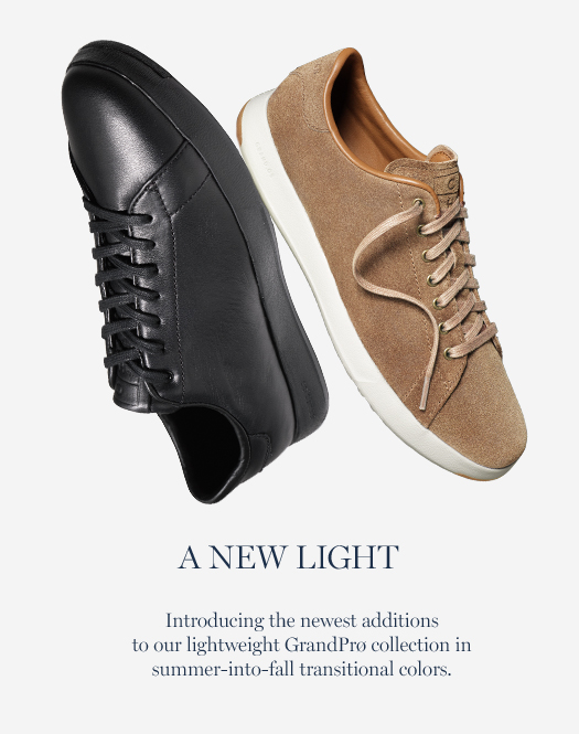 A New Light: Introducing the newest additions to our lightweight GrandPrø collection in summer-into-fall transitional colors.