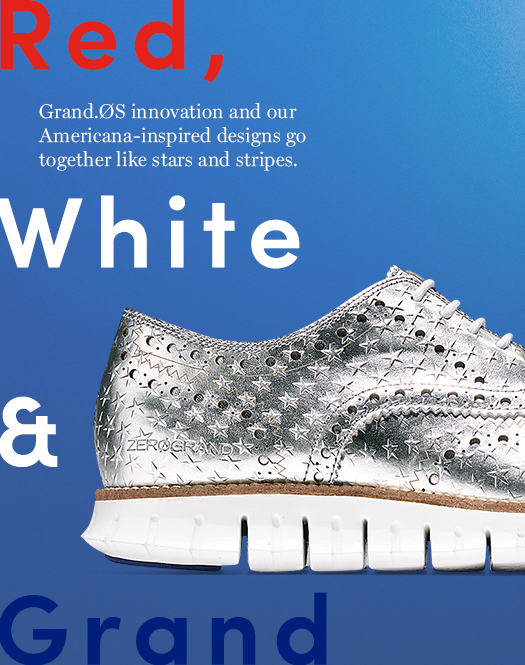 Red, White & Grand: Grand.OS innovation and our Americana-inspired designs go together like stars and stripes.