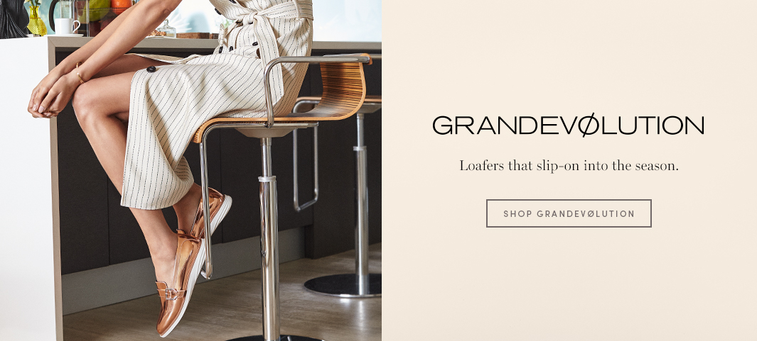 GrandEvølution - Loafers that slip-on into the season.