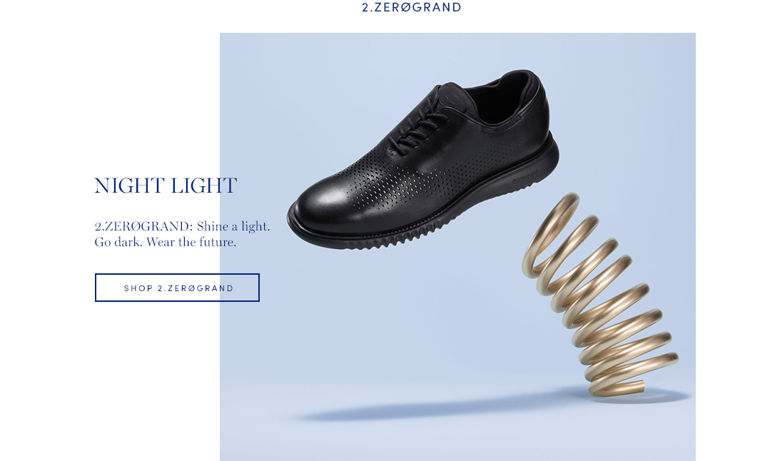 Night Light — 2.ZeroGrand: Shine a light. Go dark. Wear the future