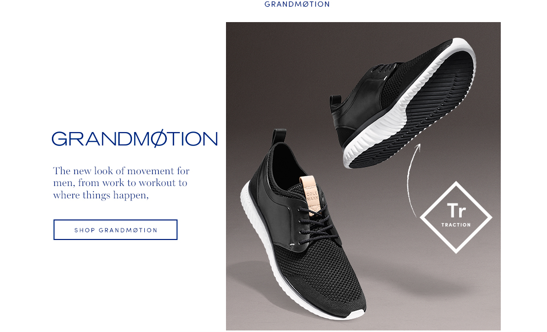 GRANDMOTION: The new look of the movement from work to workout to where things happen.