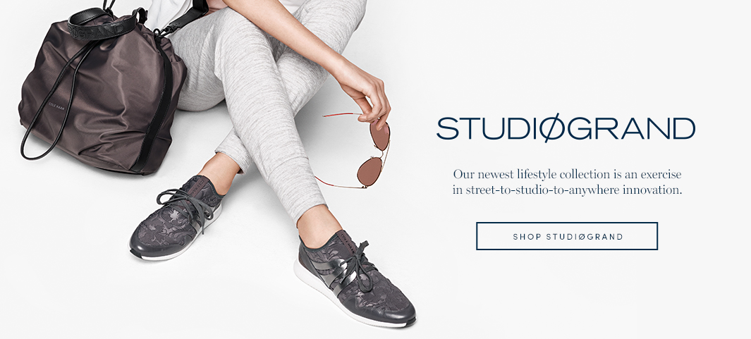 StudiøGrand: Our newest lifestyle collection is an exercise in street-to-studio-to-anywhere innovation.