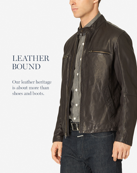 Leather Bound: Our leather heritage is about more than shoes and boots.